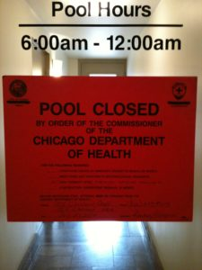 pool closed