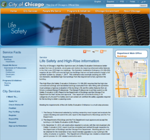 City of Chicago LSE