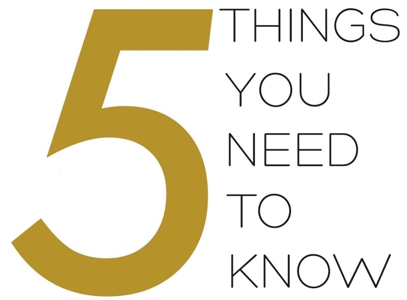5 things you need to 28 images 5 things you need to for Things you need for a house